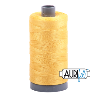 Aurifil 28 Cotton Thread - 1135 (Yellow)